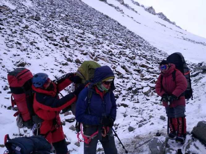 Передовой базовый лагерь. Фото K2 winter climb 2019