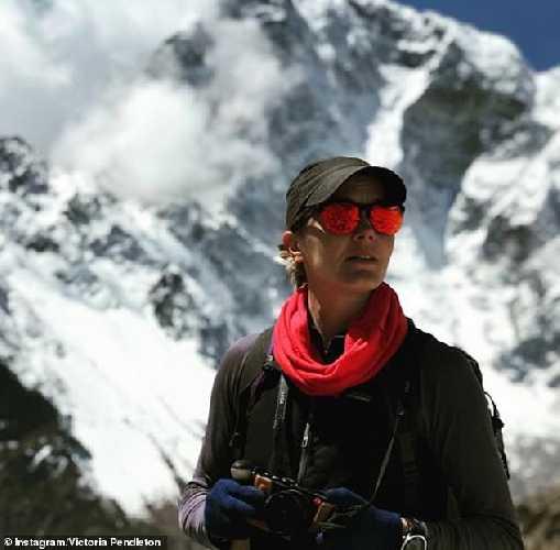 Виктория Луиза Пендлтон (Victoria Louise Pendleton) у Эвереста, май 2018 года. Фото Victoria Pendleton