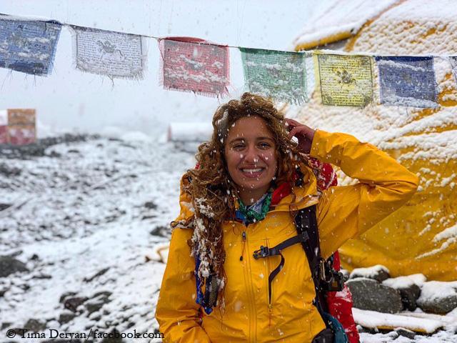 Тима Дерьян (Tima Deryan) в Непале. Фото Tima Deryan