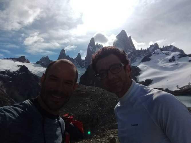 Фабричио Амараль (Fabrício Amaral) и Леандро Янотта (Leandro Ianotta) - пропавшие на Фицрой бразильские альпинисты
