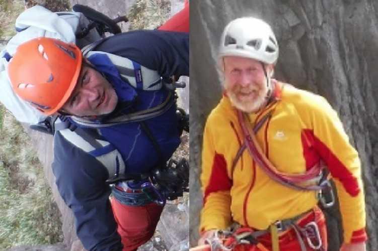 40-летний Стив Перри (Steve Parry) и 66-летний Энди Нисбет (Andy Nisbet). Фото dailyrecord . co . uk