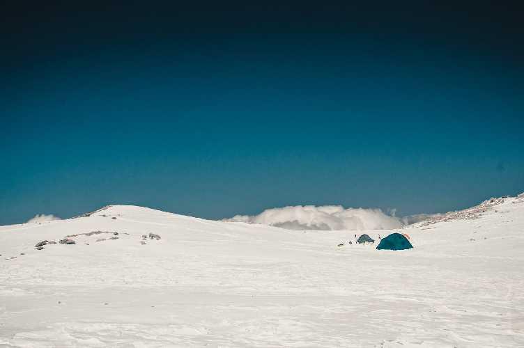 Четвертый высотный лагерь. Фото Александр Павлов