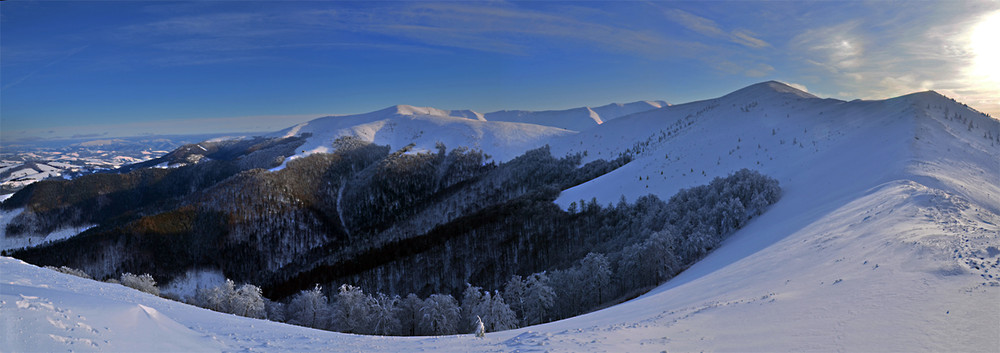 Полонина Боржава зимой. Фото Марьяна Маланчак, photographers . ua