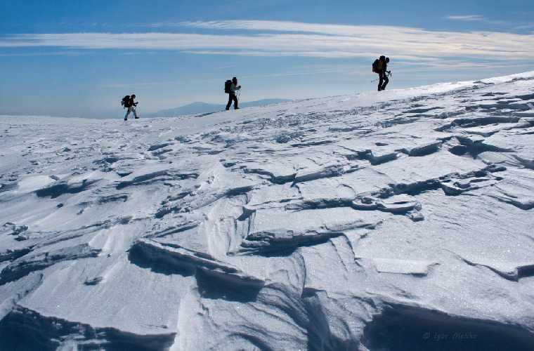 Полонина Боржава зимой. Фото Игорь Мелика, igormelika.com . ua