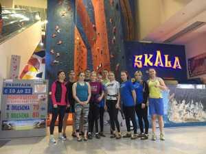 Учебно-тренировочный сбор в Днепре молодежной сборной по скалолазанию: подробности и главные участники