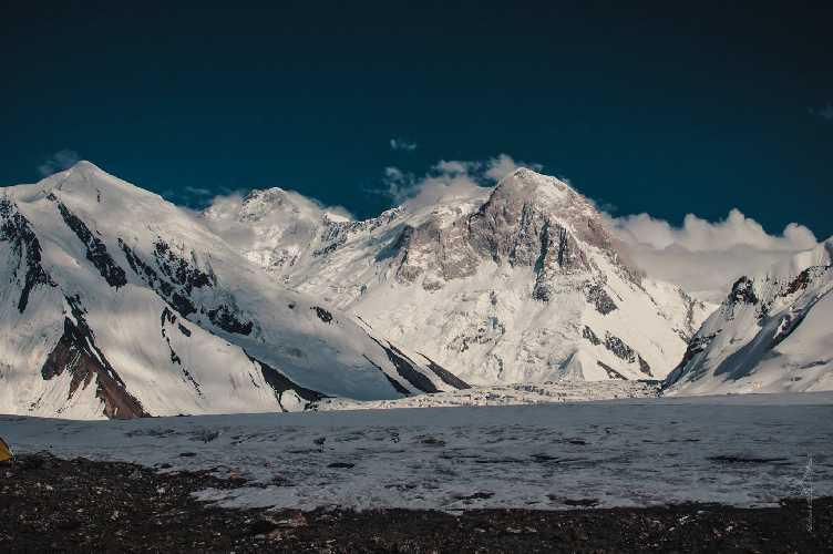верховья Иныльчека. Фото Александр Павлов