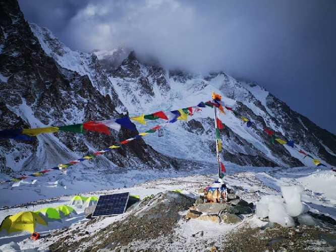 Непогода на К2. Фото K2 winter climb 2019
