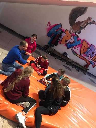 учебно-тренировочный сбор молодежной команды Украины по скалолазанию в Днепре. Фото Маргарита Захарова