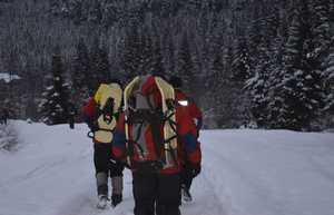 Спасатели призывают граждан не выходить в горы во время ухудшения погодных условий!