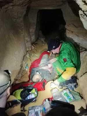 В одесских катакомбах произошел обвал: травмирован один спелеолог