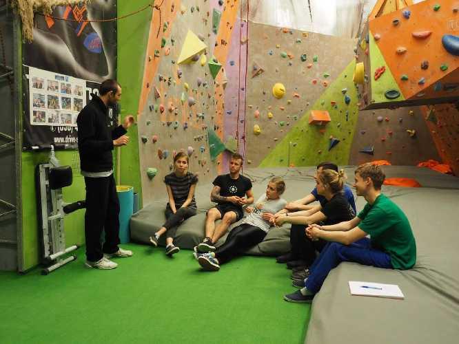 Тренировки в клубе. Фото format-club . com
