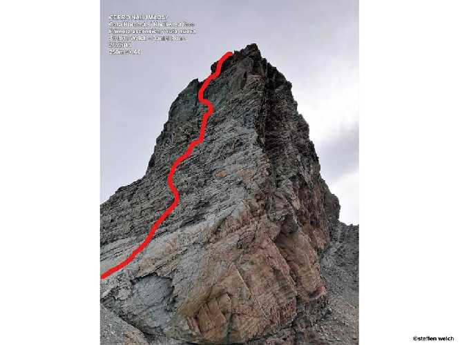Нахумадей (Cerro Nahumaday). Фото Patagonia Vertical