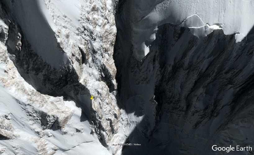 На фото - вероятное место нахождения Даниэля Нарди и Тома Балларда: