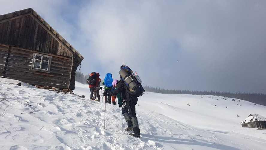 Фото с последнего похода на Поп-Иван. Фото участников туристического похода, со страницы Лилия Ткачук, facebook.com