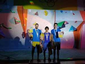 В Никополе прошел первый этап Кубка Украины по скалолазанию