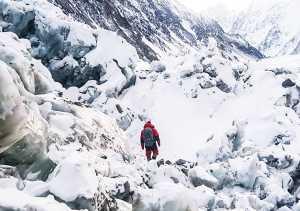 Зимняя экспедиция на К2 Алекса Тикона: команда в первом высотном лагере