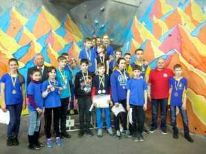В Кременчуге прошел Чемпионат Украины по скалолазанию среди школьников