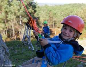 Готовим ребенка к выезду на скалы