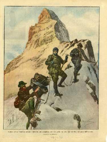 как французская пресса представляла альпинизм массовому читателю
