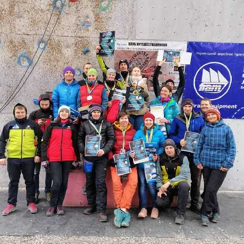 Чемпионат ФАиС Украины по ледолазанию 2019. Фото Ledolaz_Ukraine, facebook . com