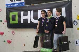 Харьковчанин Тимур Дятлов выиграл соревнования по боулдерингу в чешском городе Брно
