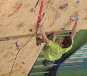 В Харькове прошли скалолазные соревнования среди студентов