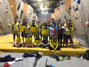 В Киеве проходит тренировочный сбор по боулдерингу молодежной сборной Украины