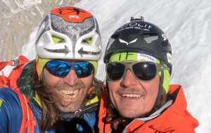 Симон Гитль и Томас Хубер возвращаются к не пройденному северному ребру горы Латок I