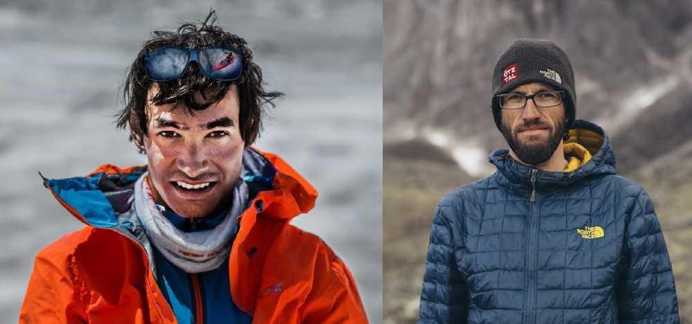 Давид Лама (David Lama) и Хансйорг Ауэр (Hansjorg Auer)