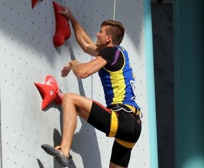 Украинский спортсмен Даниил Болдырев завоевал золотую медаль Кубка Европы по скалолазанию!