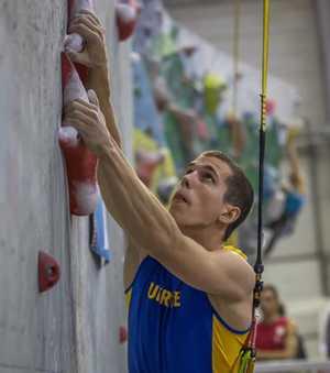 Одессит Константин Павленко завоевал серебро на этапе Кубка Мира по скалолазанию в китайском Чунцине