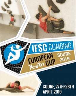 В Португалии прошел первый этап молодежного Кубка Европы по скалолазанию