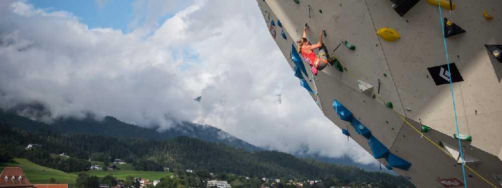 Соревнования по скалолазанию в Инсбруке. Фото KVÖ/Stefan Voitl