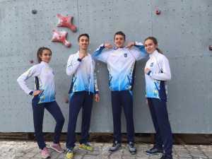 Украинские школьники - будущие чемпионы по скалолазанию