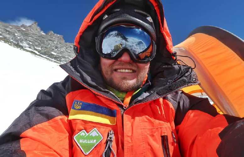 Андрей Вергелес в четвертом высотном лагере на Лхоцзе. Фото Андрей Вергелес