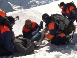 спасработы на Эльбрусе. Фото ГУ МЧС по Кабардино-Балкарии
