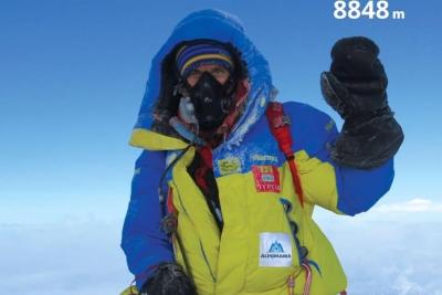 Три украинских альпиниста взошли на вершину Эвереста!