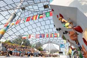 Украинские спортсмены выступят на этапе Кубка Мира по скалолазанию в Мюнхене