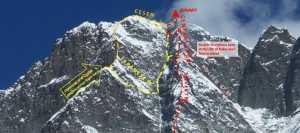 Южная стена Лхоцзе: экспедиция Сунг Таек Хонга установила четвертый высотный лагерь