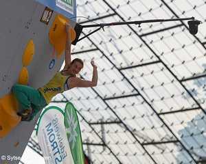 Евгения Казбекова вышла в финал этапа Кубка Мира по скалолазанию в Мюнхене!