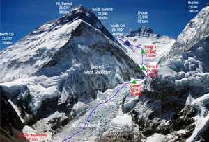На Эвересте погиб альпинист из США