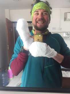 Украинский альпинист с обморожениями пальцев был спасен с восьмитысячника Лхоцзе