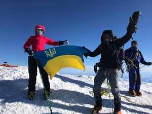Украинка Оксана Литинская взошла на вершину Эвереста!