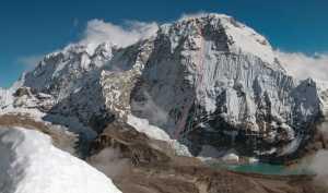 Чешские альпинисты открыли первый маршрут на северо-западной стене семитысячника Чамланг в Гималаях