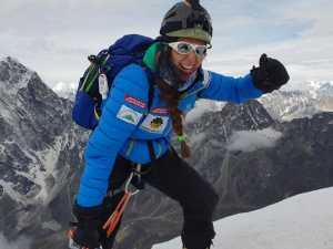 Джойс Азам стала первой женщиной из Ливана, которая прошла альпинистскую задачу