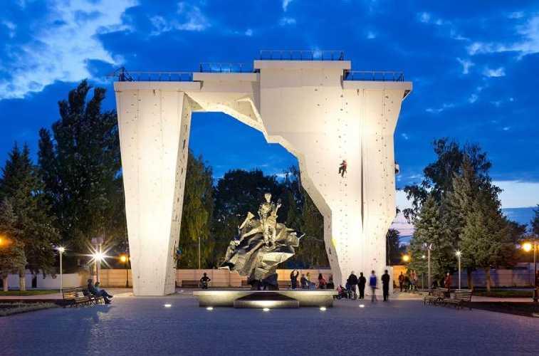 Скалодром Вертикаль Харьков