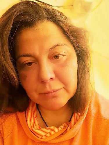 Оксана Морнева в базовом лагере Лхоцзе. Фото Оксана Морнева