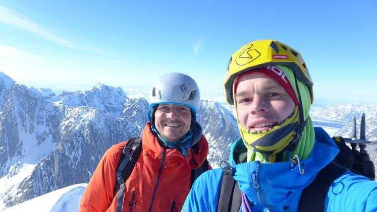 Янеж Свольжак (Janez Svoljsak) и Миха Жупин (Miha Zupin). Фото Janez Svoljsak