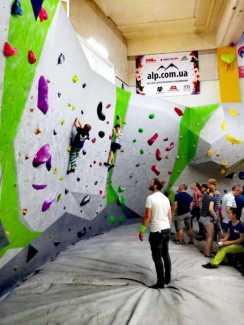В Харькове состоится молодежный чемпионат области по скалолазанию