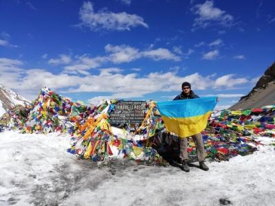 Впервые украинский турист прошёл Большой Гималайский Путь!